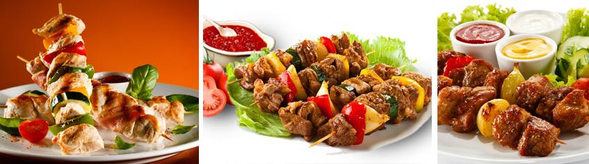 Ароматный шашлык из ресторана Сказка Востока, приготовленный специально для вас - фото.