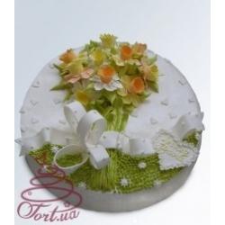 Торт на заказ «Весенний букет»