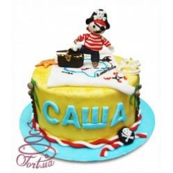 Детский торт «Пират»