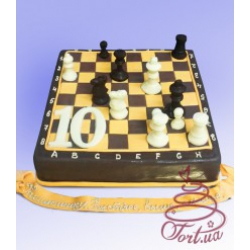 Торт на заказ Шахматы : заказать, доставка