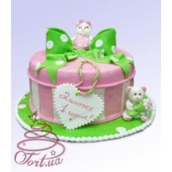 Детский торт «Коробочка счастья»