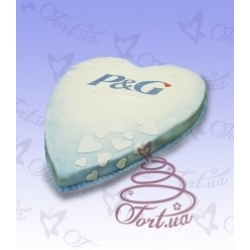 Торт на заказ «Сердце компании» : заказать, доставка