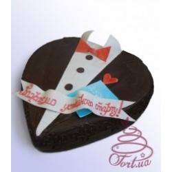 Торт на заказ «Джентельмен»