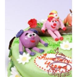 Детский торт Смешарики