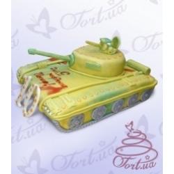 Торт на заказ «Танк»: заказать, доставка