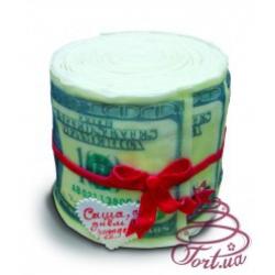 Торт на замовлення Пачка грошей: заказать, доставка