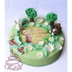 Детский торт «Маша и медведь»  : заказать, доставка