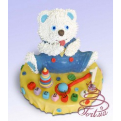 Детский торт «Мишка Тема»