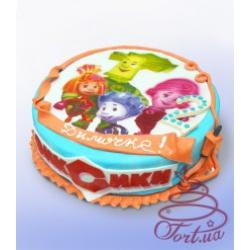 Детский торт Фиксики с фото