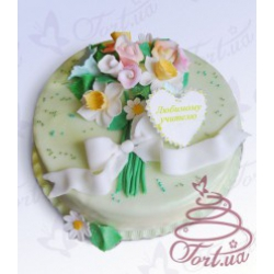 Торт на заказ «Летний букет»