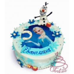 Детский торт Холодное сердце