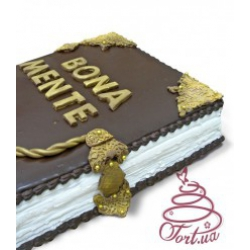Торт на заказ «Старинная книга»