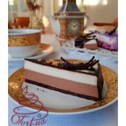 Пирожное Чизкейк английский  2 шоколада
