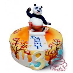 Детский торт Панда Кунг-фу: заказать, доставка