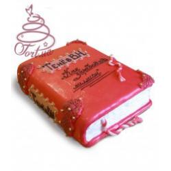 Торт на заказ «Красная книга»