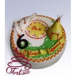 Детский торт  «Индейский»: заказать, доставка