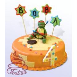 Детский торт Черепашка Ниндзя