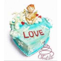 Торт на заказ «Амурчик»