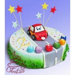 Детский торт «Тачки»