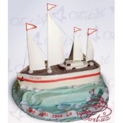 Торт на заказ «Корабль мечты»: заказать, доставка