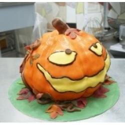 Торт на заказ Тыква на Хеллоуин