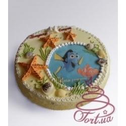 Детский торт «Нэмо»: заказать, доставка