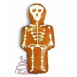 Пряник на Хеллоуин Скелетик