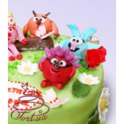 Детский торт Смешарики: заказать, доставка