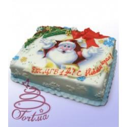 Торт на заказ Дед Мороз