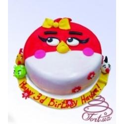 Детский торт Angry birds: заказать, доставка