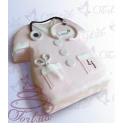 Торт на заказ «Подарок для врача»