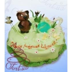 Детский торт  «Винни Пух»: заказать, доставка
