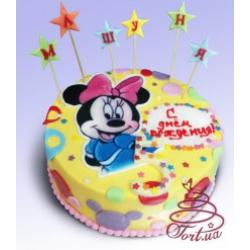 Детский торт «Микки Маус»