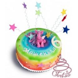 Детский торт  «Маленькая пони»
