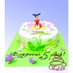 Детский торт Винкс с фигуркой: заказать, доставка