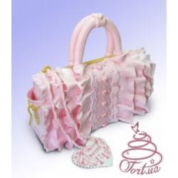 Торт на заказ «Дамская сумочка»