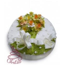 Торт на заказ «Весенний букет»: заказать, доставка
