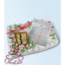 Торт на заказ «Милый мой бухгалтер»: заказать, доставка