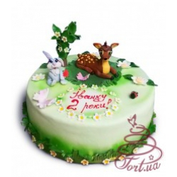 Детский торт Бемби
