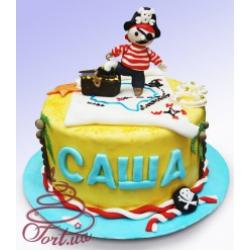 Детский торт «Пират»: заказать, доставка