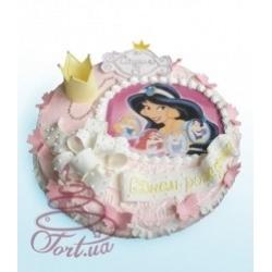 Детский торт Бал принцесс: заказать, доставка