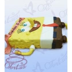 Детский торт «Спанч Боб»: заказать, доставка