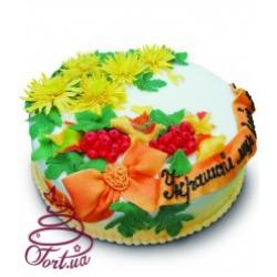 Торт на заказ «Осенний букет»