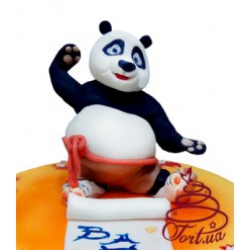 Детский торт Панда Кунг-фу