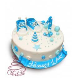 Детский торт с кедами Малыш