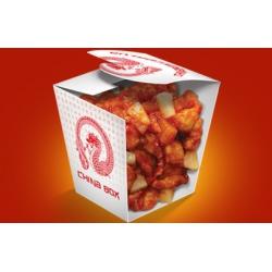 №401 Курица в к/с соусе с ананасами (345гр): заказать, доставка