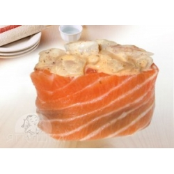 Суши спайс с масляной и лососем: заказать, доставка
