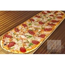 Party пицца с салями и беконом: заказать, доставка