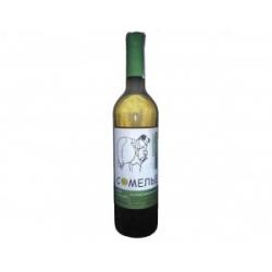 Вино Сомелье Шардоне белое сухое