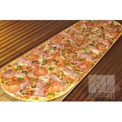 Party пицца с ветчиной и грибами